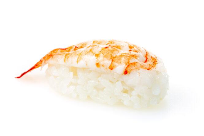 Hiidkrevett sushi