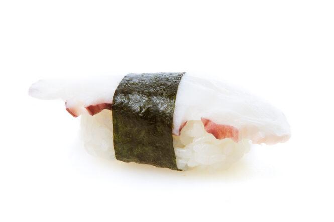 Kaheksajalg sushi
