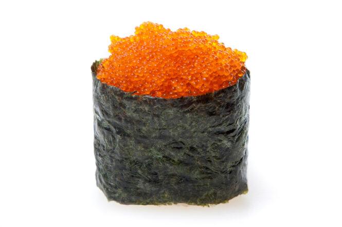Tobikko sushi